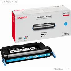 Canon toner CRG-711C, LBP-5300 + LBP-5360, 6000 st