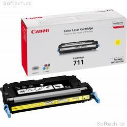 Canon toner CRG-711Y, LBP-5300 + LBP-5360, 6000 st