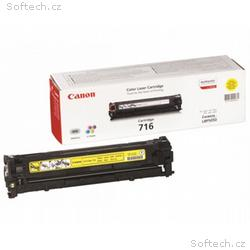 Canon toner CRG-716Y, LBP-5050, MF-80x0, 1500 stra
