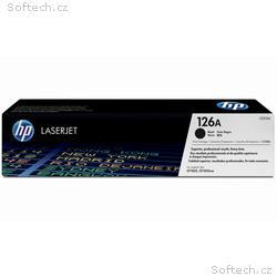 HP černá tisková kazeta CE310A originál