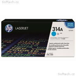 HP colorsphere azurový toner, Q7561A originál