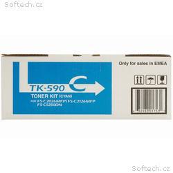 Kyocera toner TK-590C, FS-C2026MFP, C2126MFP, 5 00