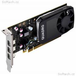 PNY Quadro P400 V2 DP, 2GB GDDR5, PCI-E, 3x miniDP
