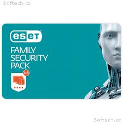 ESET Family Security Pack - 3 lic., na 1 rok - ele