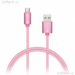 CONNECT IT Wirez Premium Metallic micro USB - USB,