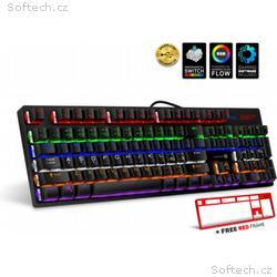 CONNECT IT NEO+ mechanická herní klávesnice, RGB p
