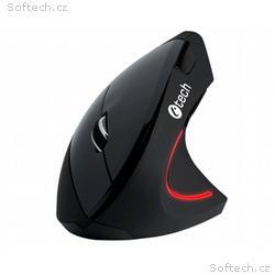 C-TECH myš VEM-09, vertikální, bezdrátová, 6 tlačí