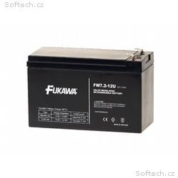 akumulátor FUKAWA FW 7,2-12 F2U (12V, 7,2Ah, fasto