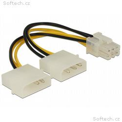 Delock napájecí kabel pro PCI Express Card 15cm