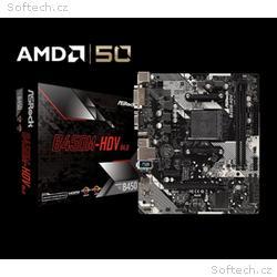 ASROCK MB B450M-HDV R4.0 (AM4, amd B450, 2xDDR4 32