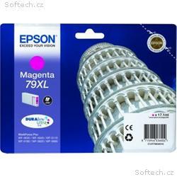 EPSON cartridge T7903 magenta (šikmá věž) XL