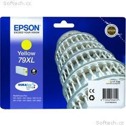 EPSON cartridge T7904 yellow (šikmá věž) XL