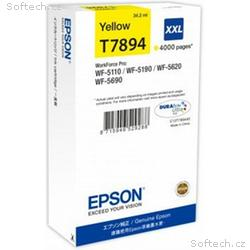 EPSON cartridge T7894 yellow (WorkForce5)