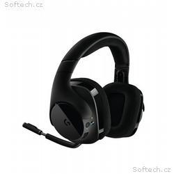 Logitech náhlavní souprava G533 Wireless, černá