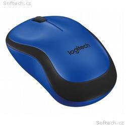 Logitech myš Wireless M220 Silent, optická, bezdrá