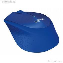 Logitech myš Wireless M330 Silent Plus, optická, b