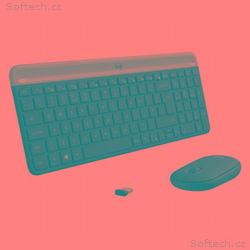 Logitech klávesnice s myší Wireless Combo Slim MK4