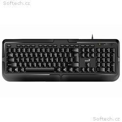 GENIUS KB-118 klávesnice, Drátová, PS2, černá, CZ+