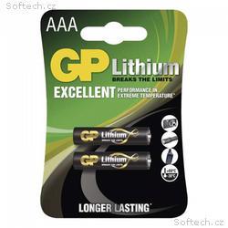 GP AAA Lithium lithiová - 2 ks