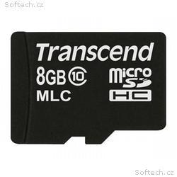 Transcend 8GB microSDHC (Class 10) MLC průmyslová