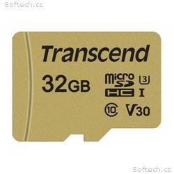 Transcend 32GB microSDHC 500S UHS-I U3 V30 (Class