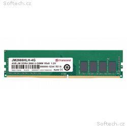 Transcend paměť 4GB DDR4 2666 U-DIMM (JetRam) 1Rx8