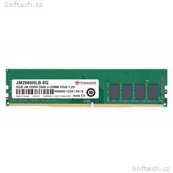 Transcend paměť 8GB DDR4 2666 U-DIMM (JetRam) 1Rx8