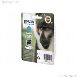 Epson T0892 - 3.5 ml - azurová - originál - blistr