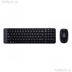 Logitech Wireless Combo MK220 - Klávesnice a sada