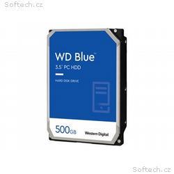 """WD Blue - Pevný disk - 500 GB - interní - 3.5"""" - S"""