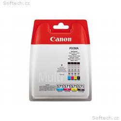 Canon CLI-571 C, M, Y, BK Multipack - 4-balení - 7