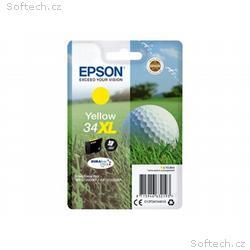 Epson 34XL - 10.8 ml - XL - žlutá - original - bli