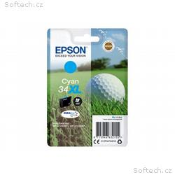 Epson 34XL - 10.8 ml - XL - azurová - originál - i