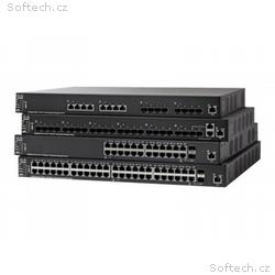 Cisco 550X Series SF550X-48MP - Přepínač - L3 - ří