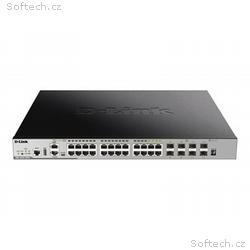 D-LINK, Switch, DGS-3630, 24 RJ45 4Combo 4x10GeSFP