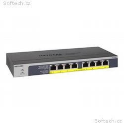 NETGEAR GS108LP - Přepínač - 8 x 10, 100, 1000 (Po
