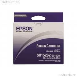 Epson - Černá - textilní páska do tiskárny - pro L